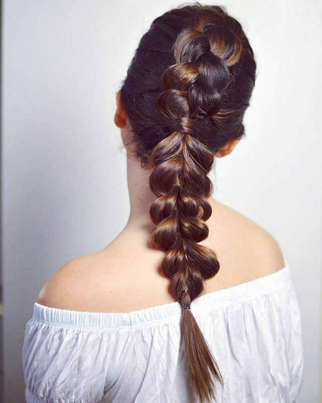 Highlighted and Braided Glamour