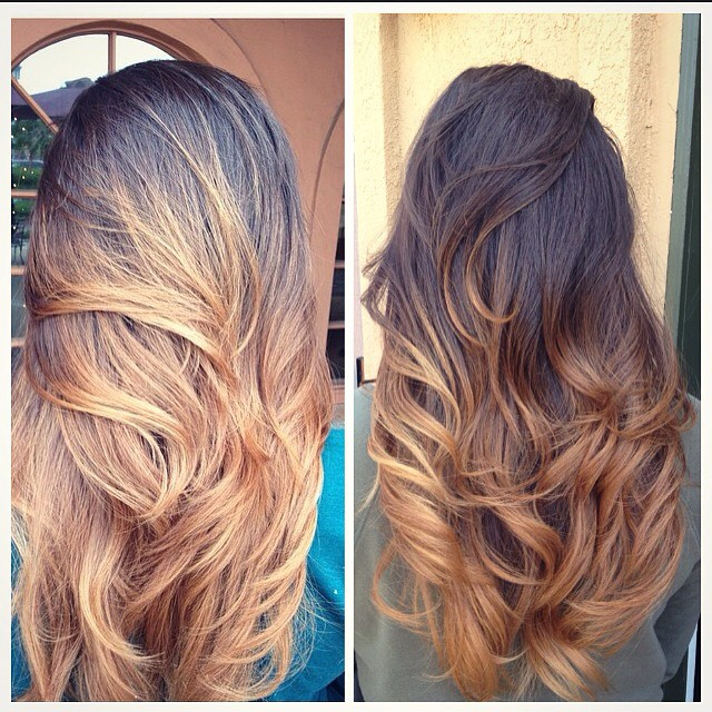 Layered Ombre Tresses