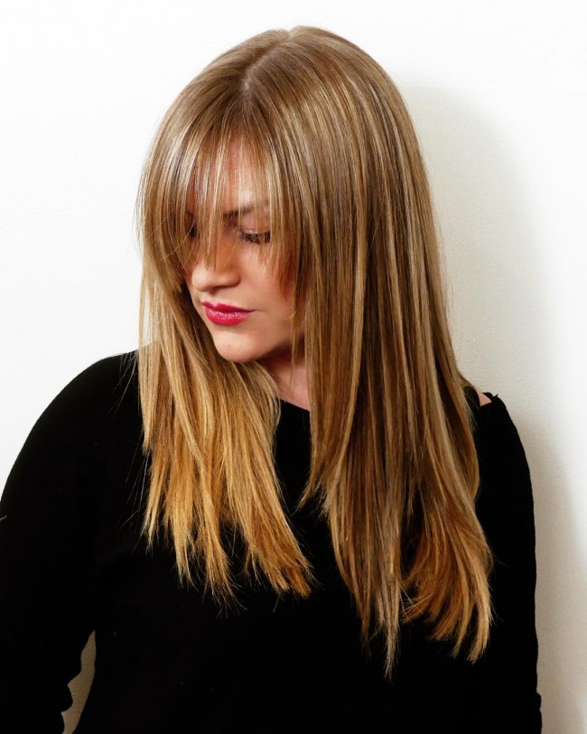 Long Layered Blondie Locks