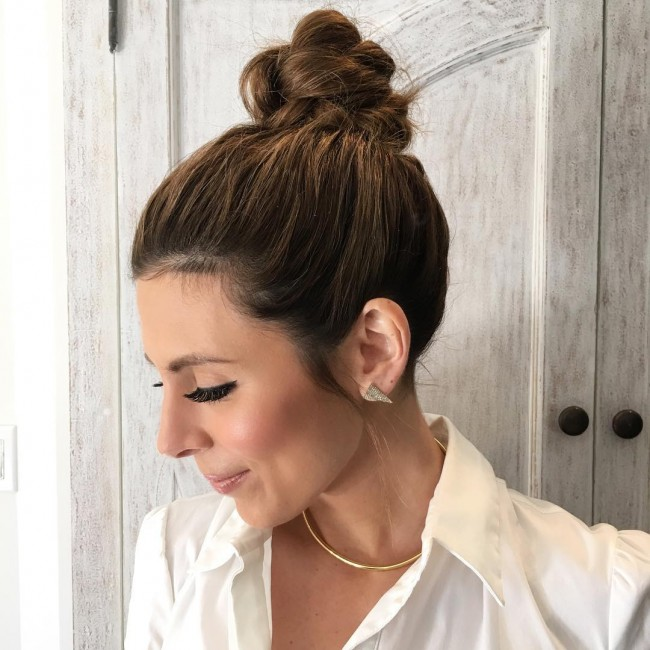 Loosely Twisted Bun