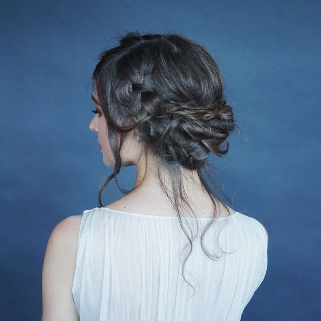 Lose and Wispy Updo