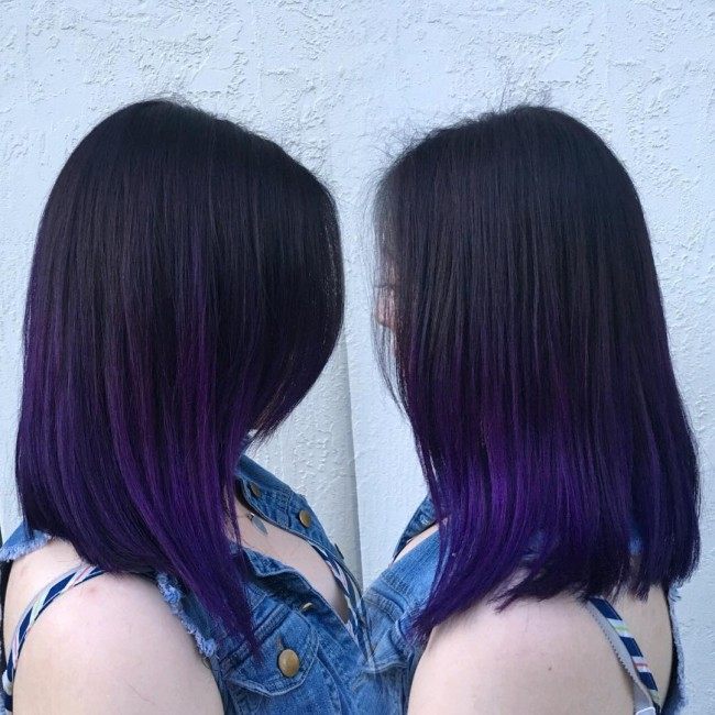 Majestic Purple Dye Job