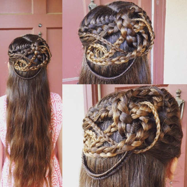 Multiple Intertwined Braids