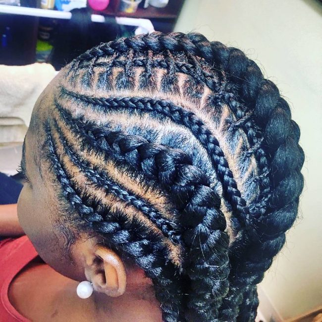 Multiple Sized Braids
