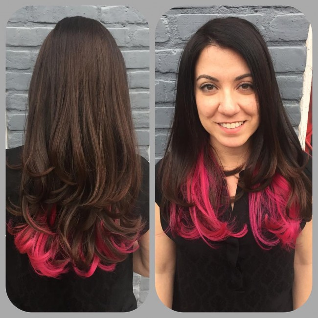 Pink and Black Color Perfection