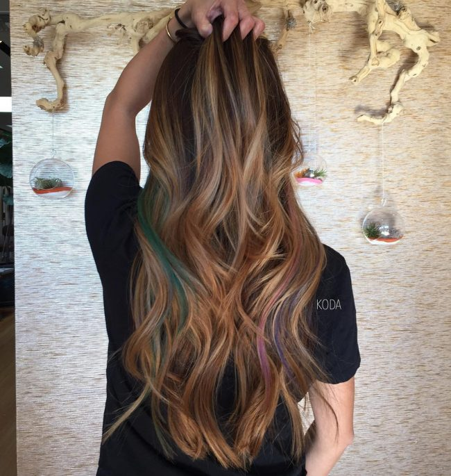 Pretty Brunette Balayage