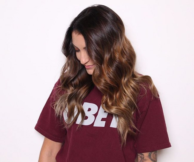Ravishing Brunette Highlights
