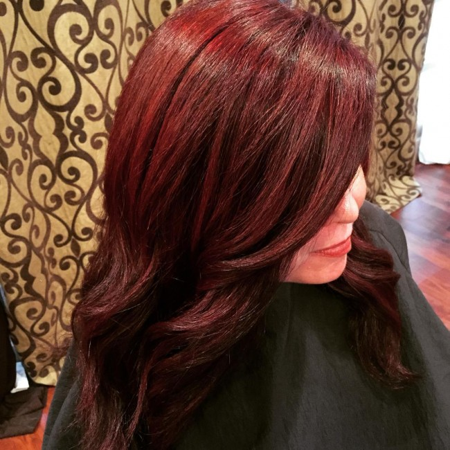 Red Vintage Blowout