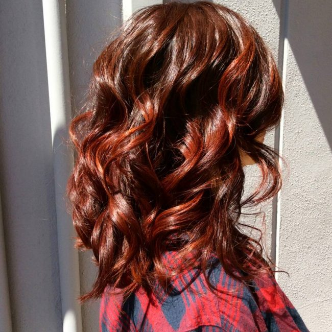 Rich Red Brown With Sweet Streaks