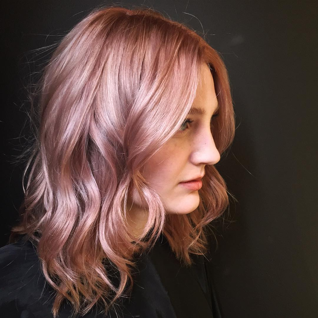 50 Excellent Rose Gold Hair Ideas Trendiest Colors 2016