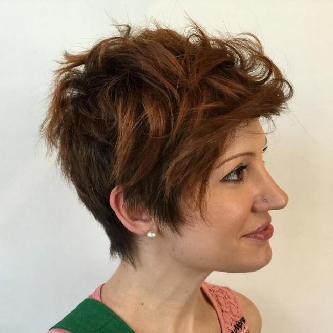 Rugged and Tapered Long Pixie