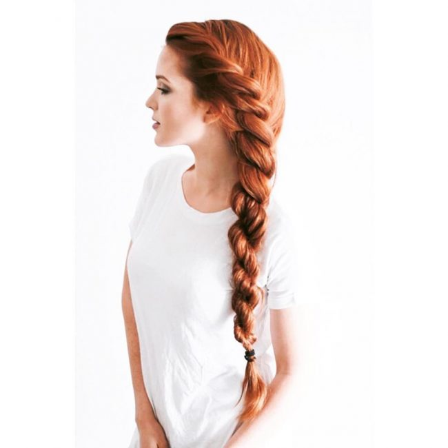 Side Swept French Twist