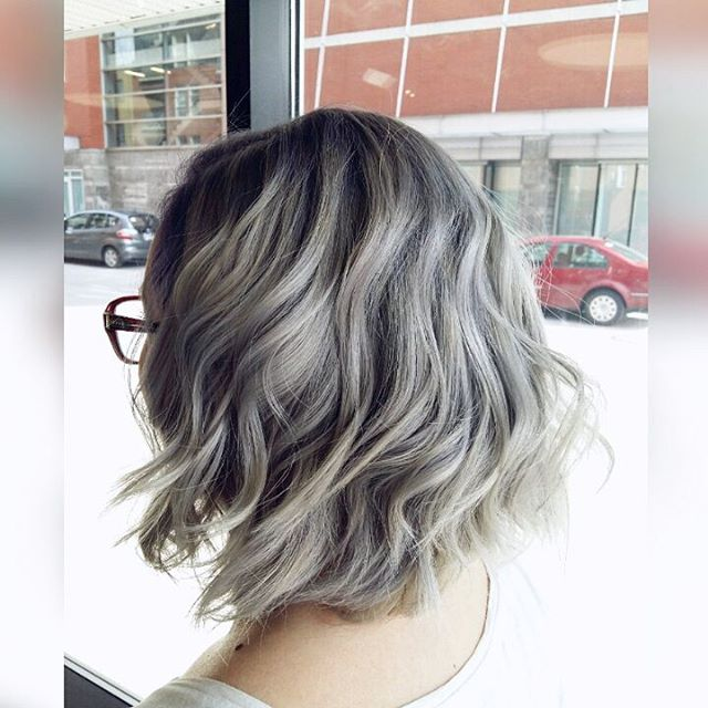 Silver Blonde Tresses