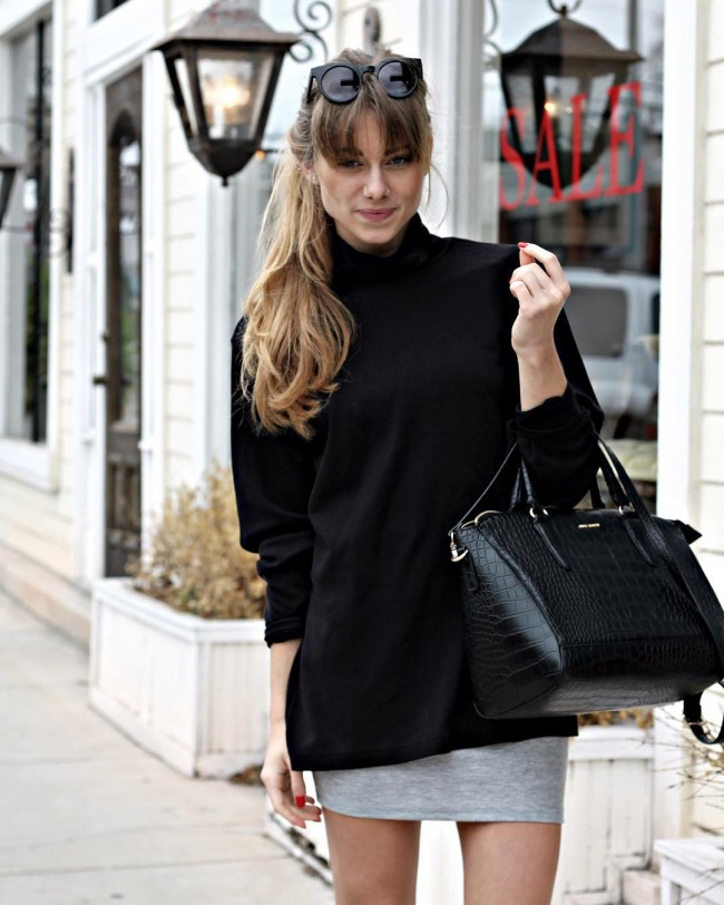 Simple and Elegant Bangs