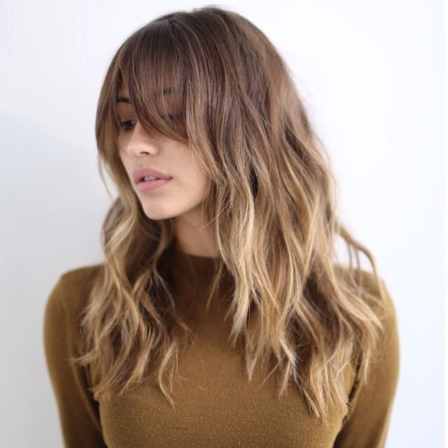Smooth Ombre Bangs