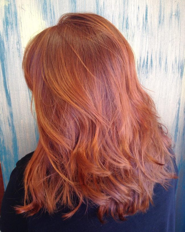Spicy and Chunky Ginger Locks
