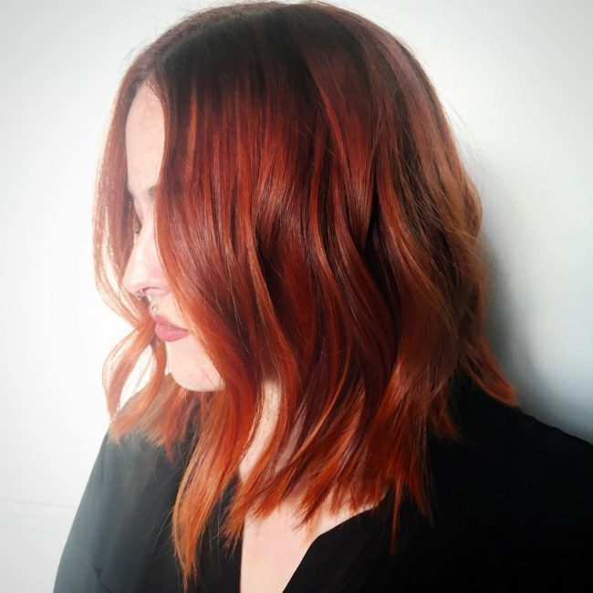 Stacked Foxy Red Locks