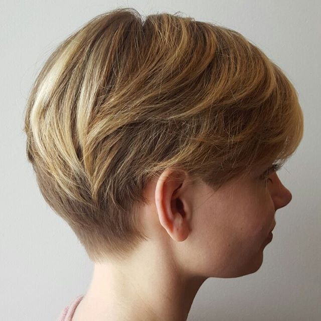 Stacked Pixie Cut