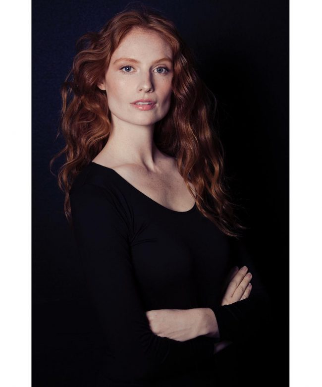 Stunning Red Head with Natural Texture