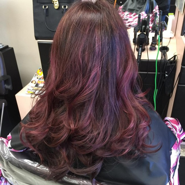 Subdued Copper with Reddish Brown Streaks