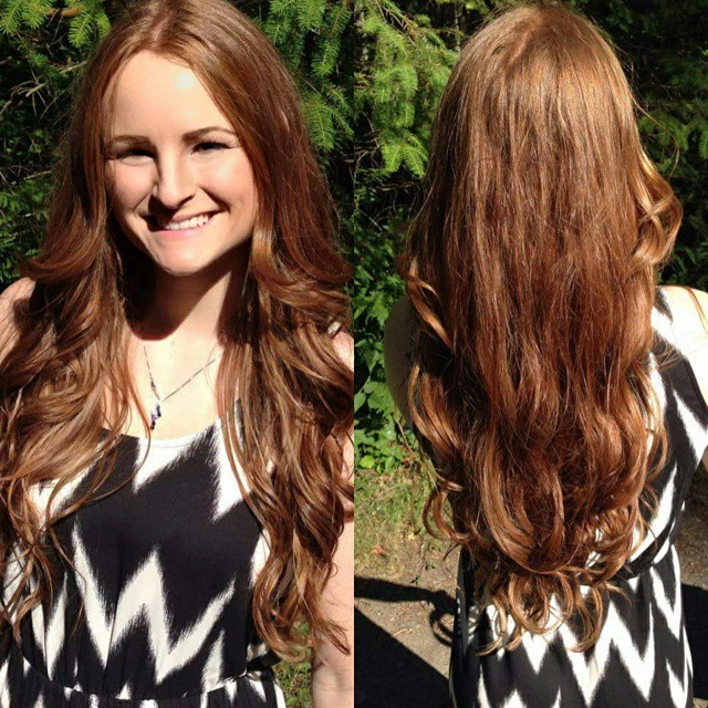 Sun Kissed Natural Auburn Ombre