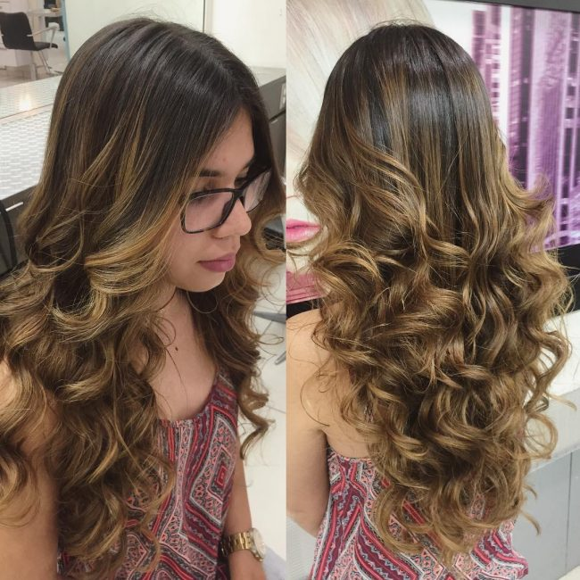 Swirly Ombre Locks