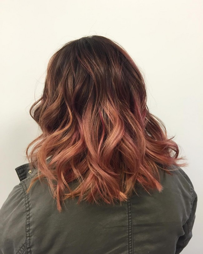Textured Ombre Balayage