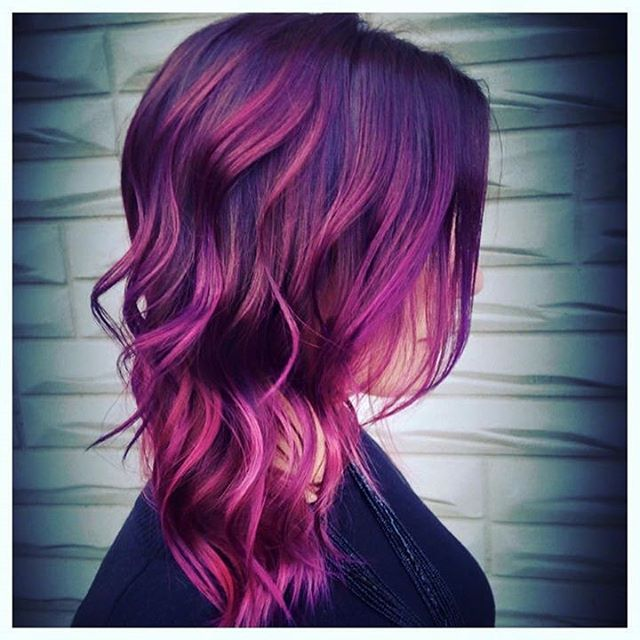 The Alluring Purple Pink Thrill