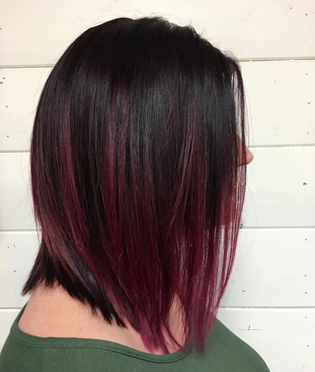 The Red Wine Ombre