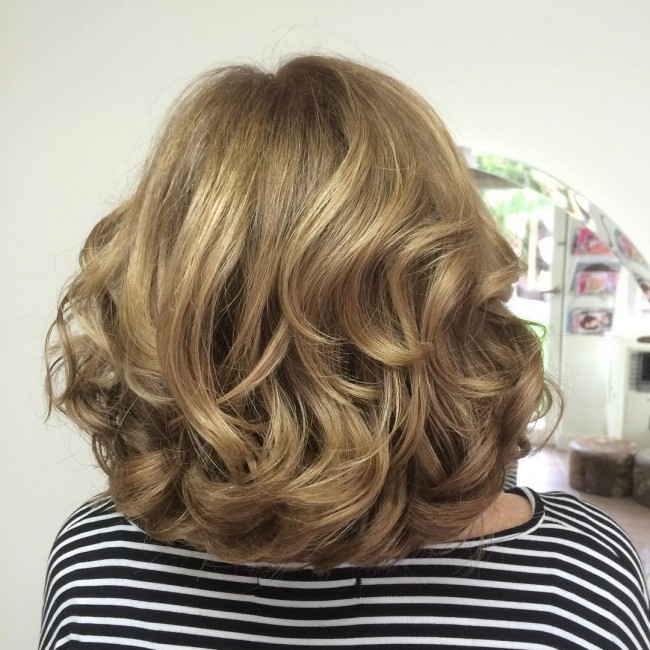 Thick Copper Blonde Waves