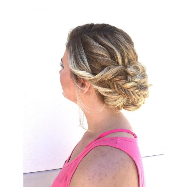 Twisted and Pinned Fishtail