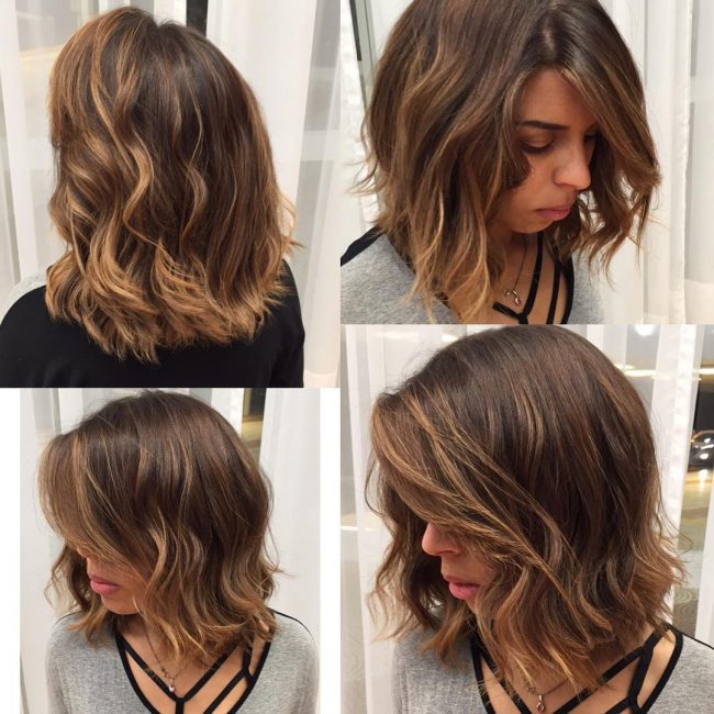 Adorable Wavy Long Bob