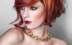 Angular Bob with Red and Gold Pop Ups
