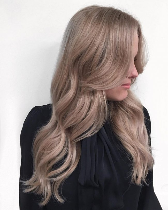 Balayage Layered Blonde