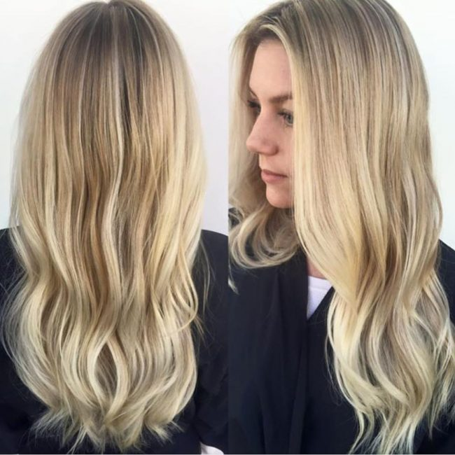 Beautiful Bright and Blended Blonde