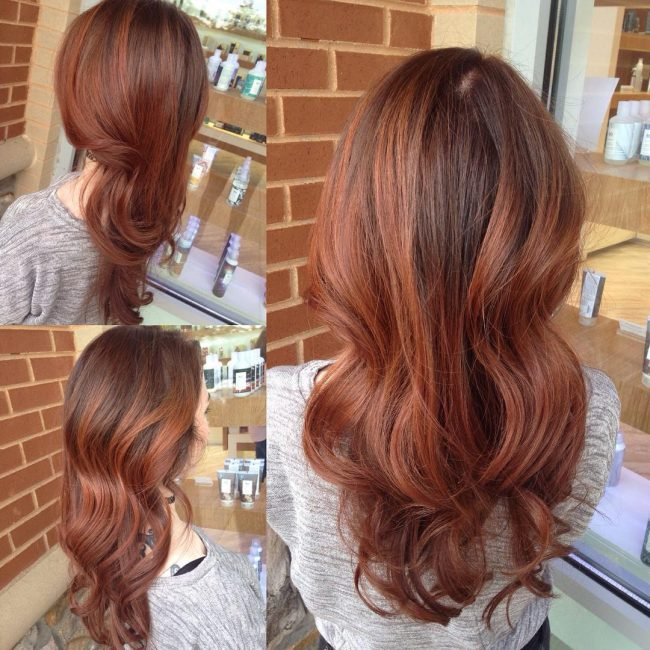 Blended Red Brown