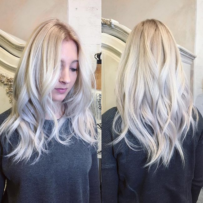 Blondie Locks with a Hint of Silver