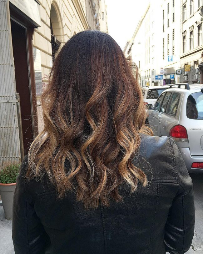Blunt Balayage Locks