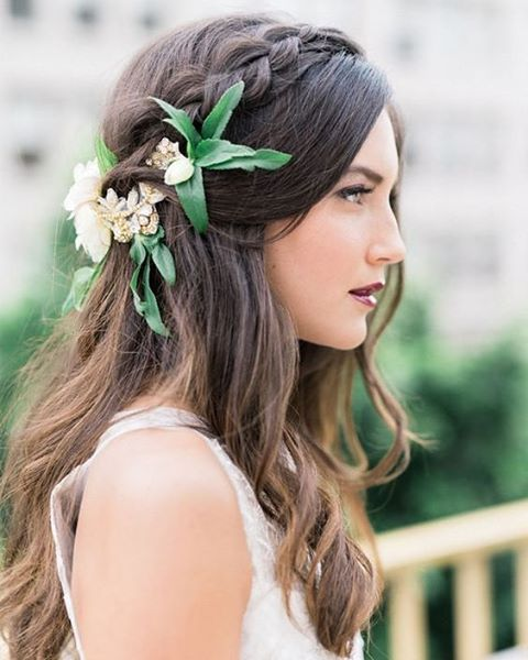 Boho Style Flower Crown