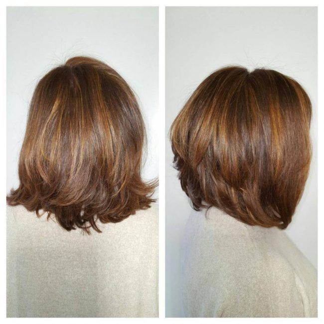 Brown Blow-Dry Beauty