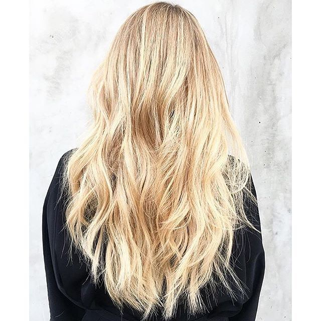 Buttery Blonde Textured Layers