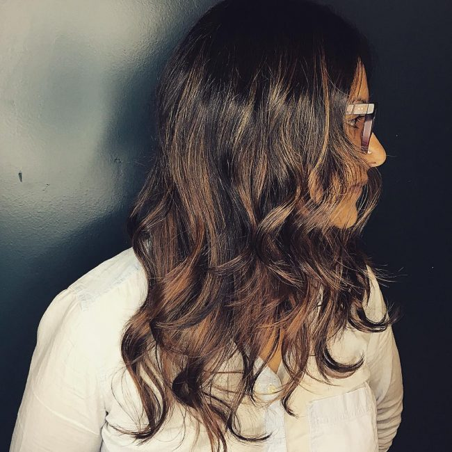 Chocolate Kiss Balayage