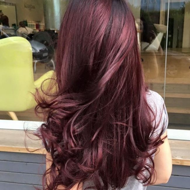 Classic Hue with Subtle Cherry Streaks