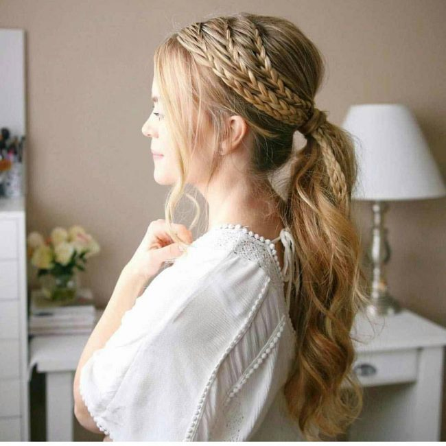 Contemporary Braided Ponytail