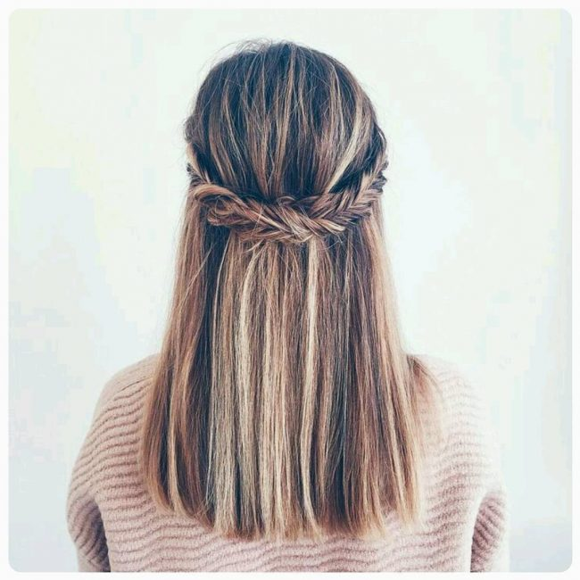 Cute and Easy Hairdo