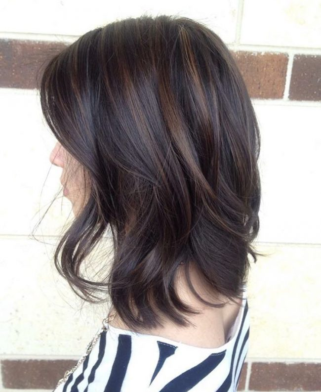 50 Delicious Chocolate Brown Hair Colors Designs