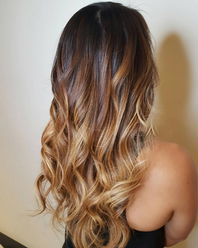 Image Gallery light brown ombre