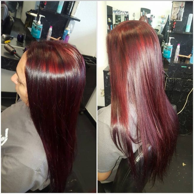 dimensional plum hair source black cherry - Hair Color Black Cherry