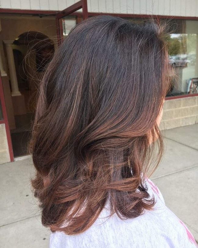 Easy and Messy Balayage