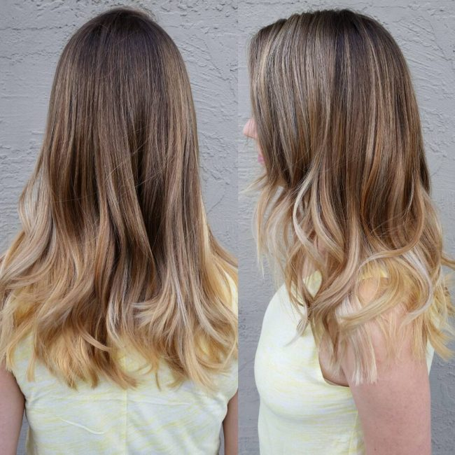 Fabulous Wavy Ombre Locks